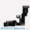 High Quality Front Facing Camera Proximity Light Sensor Flex Ribbon Cable iPhone 5 5s 5c 6 6 Plus 6s  6S plus
