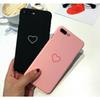 phone accessory cute heart love mobile case small gift for iphone X 8 8p 7 7p 6 6p 5s se multi colors