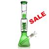 REANICE Recycler glass water bongs dab oil rigs handmade bong water cheap pipes bubbler tall beaker bongs 14.5 mm Height:31.5cm Weight:466g