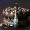 gray moonstone beads chain
