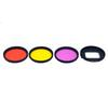Screw free 52mm Red Purple Yellow Color Filter kit For Hero 7 6 5 Black action camera