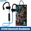 ZZYD RT558 Bluetooth Headphones Ear Hook Wireless Bluetooth Headsets Noise Cancelling Sweatproof Sport Earphones for iPhone Xs X 7 8 Samsung