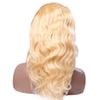 130% Density Remy Human Hair 613 Blonde peruvian indian Brazilian Body Wave Lace front Human Hair with Baby Hair