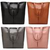 Vintage Style Simple classics fashion tote bags ladies leather handbags women's handbags ladies Outdoor bags