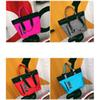 Wholesale 4 Colors Pink Handbags Shoulder Bags Higt Quality Women Designer Bags Large Capacity Travel Striped Waterproof Beach Fashion Bag