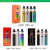 SMOKING Vape Pen 22 Starter Kits Light Edition VAPE PEN PLUS 1650mAh 3000mah Lipo Battery with 4ml Led Tank E Cigarette Mod DHL