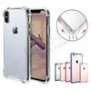 Transparent Shockproof Acrylic Hybrid Armor Bumper Soft TPU Frame PC Hard Case Cover for iPhone XR XS MAX 8 7 Samsung S9 Note9