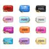 Pink Laser Cosmetic Bag Travel Make up Women Square Beach Waterproof Cosmetic Cases Bag Bolsa Evening Bag 12 colors