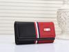 Pink sugao designer wallet 6 color fashion wallets high quality pu leather famous brand wallet women men print letter luxury wallet Tambrand