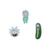 Enamel Lapel Pin Rick and Morty Pickle Rick Brooch Cartoon Anime Jewelry Pins for Backpack Bag Jeans Clothes
