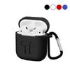earphones Case For Apple Airpods Case Soft silicone portective Case Cover with Keychain with retail package