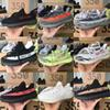 2018 Top SPLY Boost 350 V2 Shoes Running Sports Outdoor Athletic Shoes Zebra Semi Frozen Cream White Unisex Beluga 2.0
