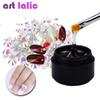 Artlalic 8ML Nail Art Rhinestones Glue Gel Use for Nail Tips Decoration Pearl Gem Glitter Jewelry Garment Stick Tool