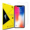 Screen Protector for iPhoneX iPhone8 2.5D Premium Quality Tempered glass Film Shockproof Protector for Samsung galaxy S9 S10 Retail Package