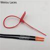 # 1762 Schwarz-Orange-roter Kabelbinder 80cm