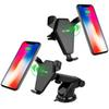 N5 Qi Wireless Car Charger With Holder Stand 10W Quick Charger For iPhone X 8 Plus Samsung S9 S8