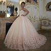 Vintage Wedding Dresses Bridal Gowns Turkey Lace Bling Beaded Tulle Sweetheart Corset Back Puffy Plus Size Ball Gown 2018
