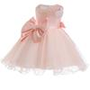 2018 Baby Girl Dress Infant Wedding Dress For Girl Baby First Birthday Party Kids Clothes 1 Year Christening 3M