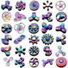 2018 Decompression toys 120 Types Fidget Hand Spinner LED Spinners Metal Alloy Copper King Glory Finger Spinn christmas gift Free Shipping