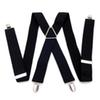 Europe and America popular solid color men's elastic suspenders FY18081602