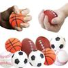 Soccer Football Squishy Toys Baseball Basketball Volleyball Slow Rising Jumbo Squeeze Phone Charms Cream Bread Stress Reliever Gift
