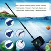 6 in 1 Aquarium Cleaning Kit Fish Tank Brush Glass Wiping Long Handle Tool Set