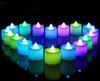 24pcs Electronic LED Candle Light for Wedding Birthday Decoration Smokeless Flameless Color Changing Flickering Candles for home DHL ship