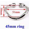Formato dell'anello: 45mm
