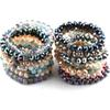 Free Shipping Energy Bracelets Made Beautiful Mix Color Glass Bracelet 10mm 10pc different color lot