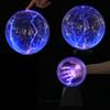 6 8Inch Plasma Ball Magic Sphere Lightning Crystal Globe Touch Nebula Light Christmas Party Decoration