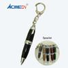 ACMECN Brand Mini Ball Pen Pocket size Pen with Keryring for School Students Fashion Gifts Metal Ballpoint Mini Short Funny