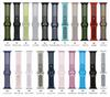 50pcs lot The new two-tone watch is available in apple watch silicone iwatch band dhl free