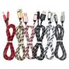 1M 2M 3M Long Strong Braided USB Charging type-c Cable For Samsung s9 s8 plus Note 8 HTC Sony LG Micro USB Wire Lighting 8 Pin cable Adapter