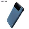 ROCK Fast Charge QC 3.0 10000 mAh Power Bank 18W Type-C PD Ports Fast Charging External Battery Charger