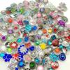 50pcs lot High quality 18mm Snap Buttons Fashion Crystal Metal Ginger snap Clasps DIY Jewelry Accessories