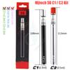 100%Original Mjtech 5S C1 C2 Vape Pen Thick Oil Cartridges O pen CE3 Ceramic Coils Glass Pyrex Tank 320mAh Disposable Kits e Cigarette vapor