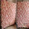 Baby Pink Wedding Flower Walls Wedding Backdrops Artifical Rose Hydrangea Background For Romantic Wedding Photography Panels 40*60cm