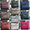 10 colors brand designer shoulder bags crossbody bag Cross Body double zippers pu purses for women