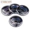 4Pcs Car Styling Motor Sports Viper Logo Car Wheel Hub Center Cap Sticker For Dodge Viper SRT GTS Ram Charger Challenger Durango