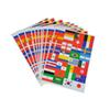 32 Country Flag Sticker 2018 World Cup Fans Face Sticker Waterproof Reflective Stickers for Car Bicycle Laptop Cheer Up Flag Stickers