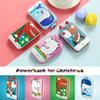Christmas 5500mAh Unicorn Power Bank Mobile Charger Battery Bank Deer Hand Warmer Gift For iPhone 7plus Honor Xiaomi