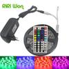 SMD 5050 RGB Led Strip Waterproof 4M 5M 8M 10M 60Led Light Flexible DC12V Led Tape RGB Diode Ribbon With Remote Adapter Kit