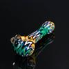 2018 New Release fashion design 4 colors glass pipe High quality glass pipe handmade exclusive smoking accessories