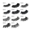 2019 MINK eyelashes 11 styles Selling 1pair lot Real Siberian 3D Full Strip False Eyelash Long Individual Mink Lashes Extension