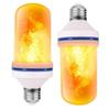 LED Flame Effect Fire Light Bulbs E26 E27 B22 4 Modes with Upside Down Effect Simulated Decorative Light Atmosphere Lighting
