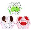 Breathable Infants Cloth Diaper Nappy Underpants Soft Cotton Cartoon Frog Dog Pig Pants Reusable Nappy Briefs for 0-2Y Baby