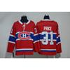 Mens Montreal Canadiens 100th Anniversary Carey Price Home Away Red White Hockey Jersey All Players In