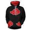 New Fashion Cool Sweatshirt Hoodies Men Printed 3D Anime Naruto Hoodie Cosplay Streetwear Hip Hop Tracksuit Hoody