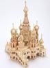 Building model Model Toys Wooden 3d puzzle puzzle toy building wooden building blocks assembled castle Gun Toys Model Toys