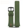 зеленый x черный застежка 28x16mm